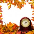 图库照片: Fall time change