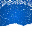 Snowflake background — Stock Photo #6402777