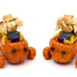 Cute Scarecrows — Stock Photo #6402847