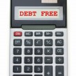 Debt Free — Stock Photo #6402921