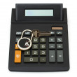 Calculating your car payment — Stock Photo