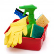 Stock Photo: spring cleaning