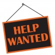 Help Wanted — Stock Photo #6403174