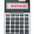 Stock Photo: Mortgage Calculator