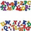 Alphabet Border - Stock Photo