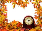 秋天时间更改 — 图库照片