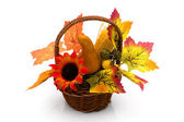 Fall flower arrangement — Stock Photo