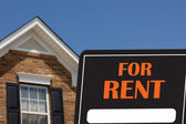 House For Rent — Stock Photo
