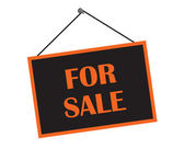 Classic For Sale Sign — Stock Photo