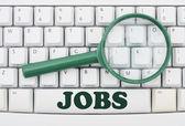 Job Searching — Stock Photo