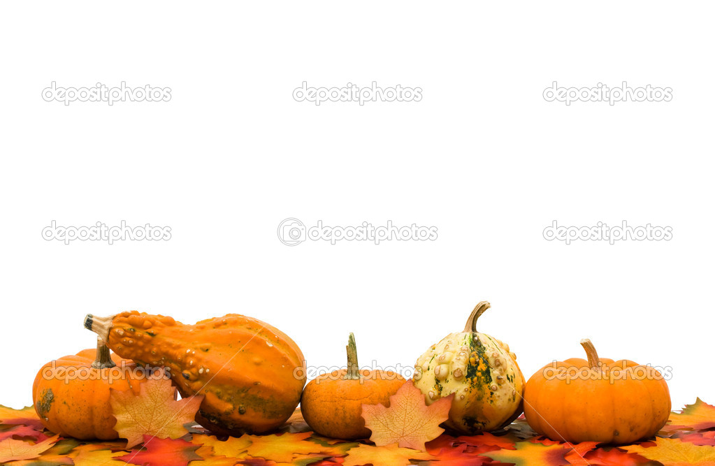 Fall Leaves Page Border http://depositphotos.com/6400360/stock-photo-Fall-Border.html