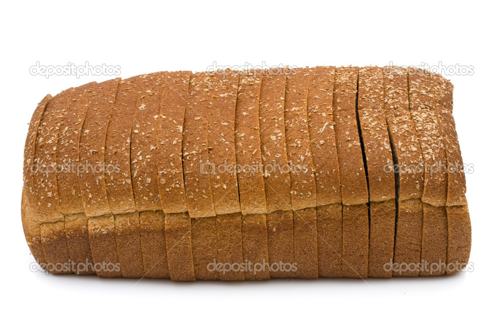 White Bread Loaf a Loaf of Whole Wheat Bread