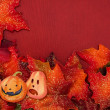 Halloween Fall Border — Stock Photo