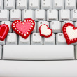 Internet Dating - Foto Stock