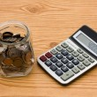 Calculating your expenses — Stok fotoğraf