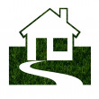 Stock Photo: Environmentally Friendly Green Homes