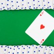 Poker Chip Border — Stock Photo