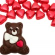 Chocolate Bear — Stock Photo