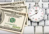 Making Money Online — Stock Photo