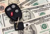 Auto betaling — Stockfoto