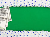 Poker Chip Border — Stock Photo