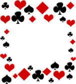 Poker background — Foto de Stock