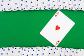 Poker Chip Border — Stock fotografie