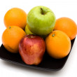 Stock Photo: Apples and Oranges