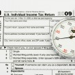Stock Photo: File your taxes on time
