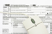File your taxes returns online — Stock Photo