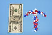 Zvýšení své peníze — Stock fotografie