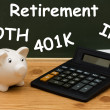 Understanding your retirement — Foto Stock #6500913