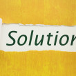 Solutions - Stok fotoraf
