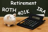 Inzicht in uw pensioen — Stockfoto