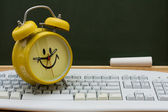 Time to get an education online — Stok fotoğraf