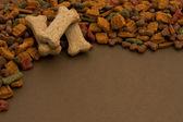 Dog Food Background — Stock Photo