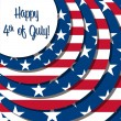 4th of July! — Vector de stock #5976839