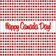 Stock Vector: Happy Canada Day!