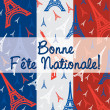 Royalty-Free Stock Vector Image: Bonne Fete Nationale!