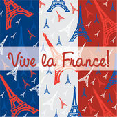 Vive La France! — Stock Vector