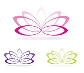 Lotus Flower — Vector de stock