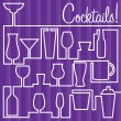 Cocktails! — Stock Vector