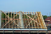 Housing development — Stock Photo