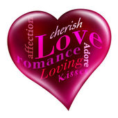 愛の心 — ストック写真