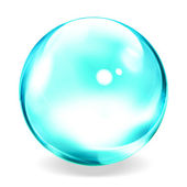Blue bubble — Stock Photo
