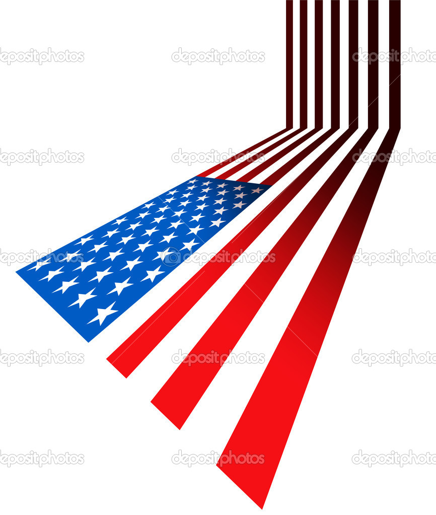 Stars and stripes — Stock Photo #5978404