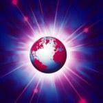 planeta ziemia ilustracja — Zdjęcie stockowe