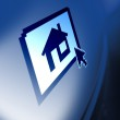Search for property online — Stock Photo #5980099