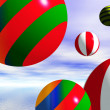 Beach ball - Foto Stock