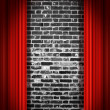 Red drapes — Stock Photo #5981045